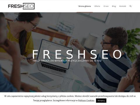 Freshseo.pl projektowanie sklepów internetowych