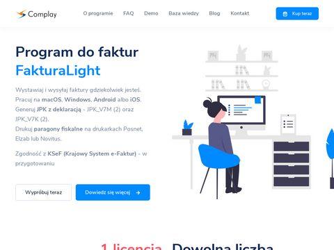 Fakturalight.pl program do faktur dla nievatowca