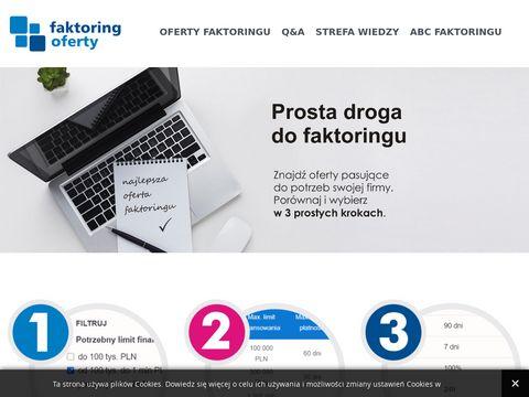 Faktoringoferty.pl - usługa finansowa dla firm