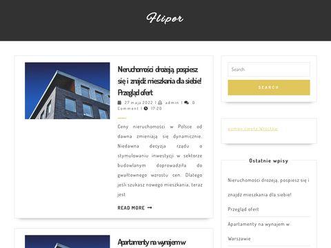 Fliper.nieruchomosci.pl wyszukiwarka mieszkań