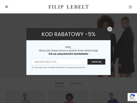 Filiplebelt.com - producent odzieży męskiej