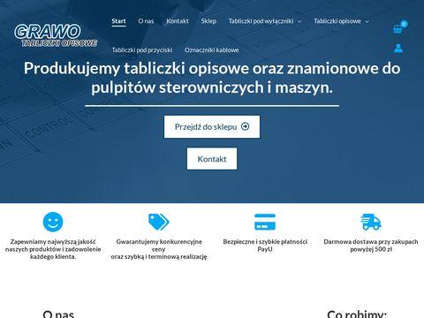Firmagrawo.pl - tabliczki opisowe