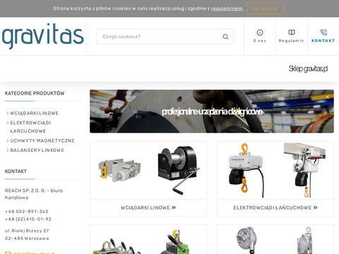 Gravitas.pl - urządzenia dźwignicowe - sklep