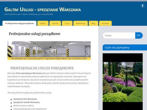 Galtim.com.pl - firma sprzątająca Warszawa