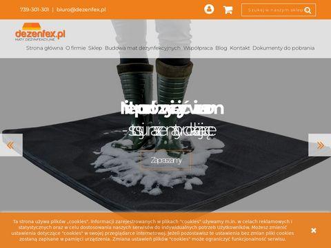 Dezenfex.pl - profesjonalne maty dezynfekcyjne