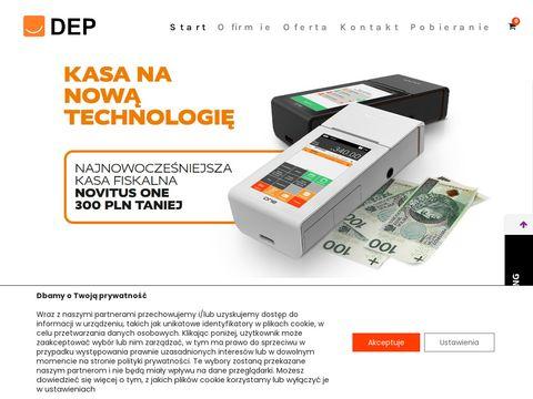 DEP Sp. z o.o. kasy fiskalne