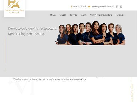 Dermocentrum.pl kosmetologia Katowice