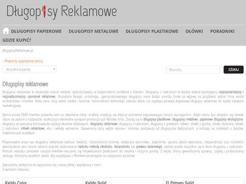 Dlugopisyreklamowe.pl z nadrukiem