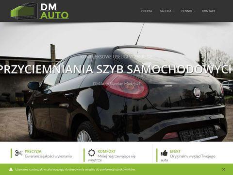 Dm-auto.pl przyciemnianie szyb samochodowych