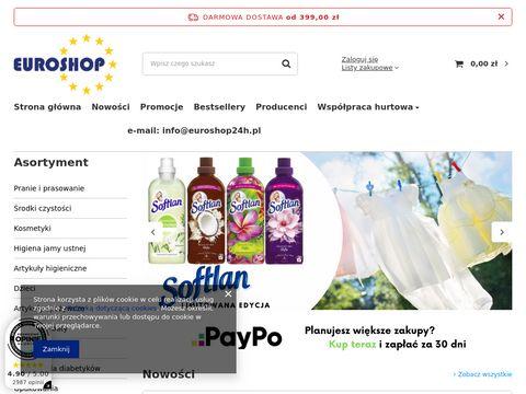 Euroshop24h.pl chemia z Niemiec - największy wybór