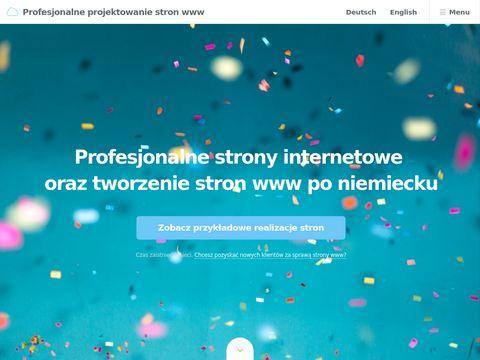 Eurogetwork - profesjonalne strony internetowe