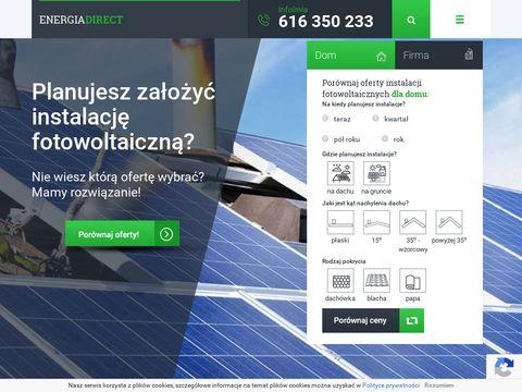 Energiadirect.pl fotowoltaika