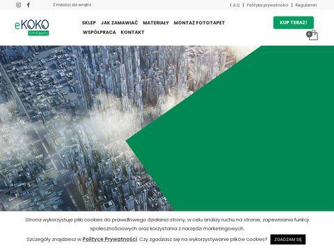 Ekokofototapety.pl na wymiar