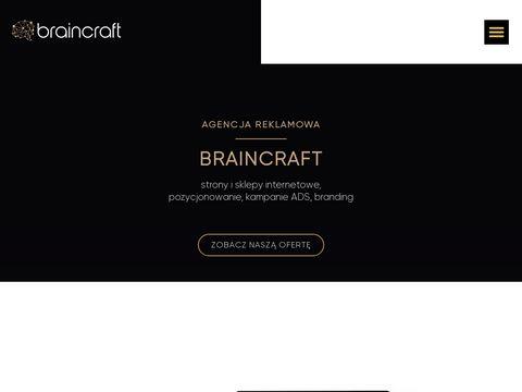 Braincraft - projektowanie stron www Śląsk
