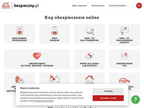 Bezpieczny.pl ubezpieczenie na życie, polisa