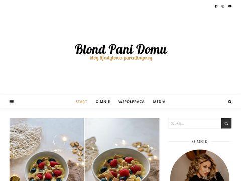 Blondpanidomu.pl - blog dla kobiet