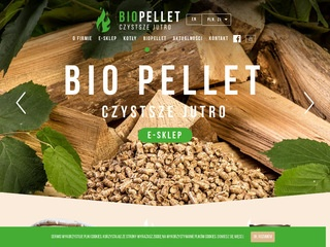 Bio Pellet drzewny wysoka kaloryczność