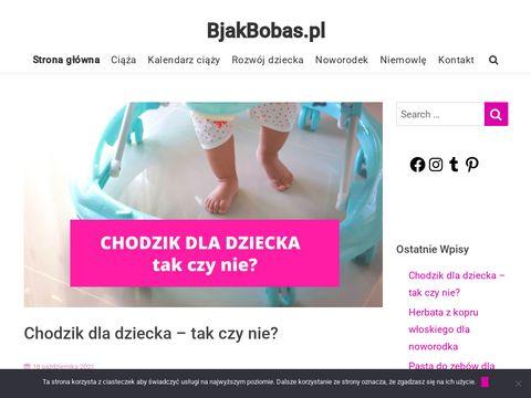 BjakBobas.pl - strona poświęcona rozwojowi dziecka