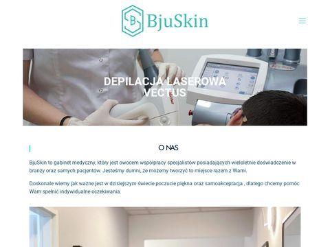 Bjuskin.pl - depilacja Łódź