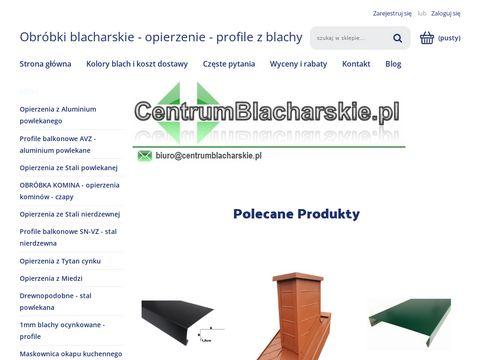 Centrumblacharskie.pl - pas nadynnowy