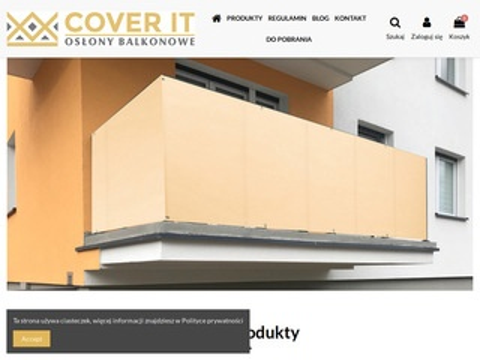 Cover-it.pl - osłony na barierki balkonowe
