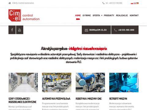 Cim-el.eu automatyzacja produkcji