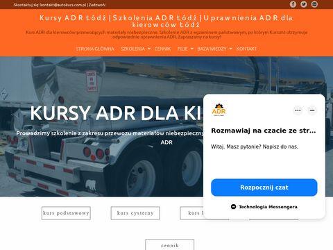 Autokurs.com.pl uprawnienia adr