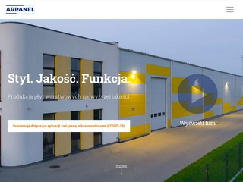 Arpanel.pl - wytwórca płyt warstwowych