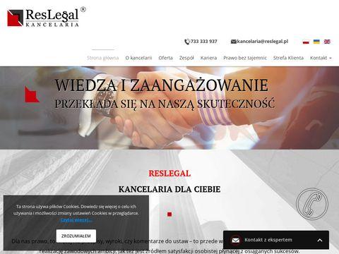 Reslegal kancelaria prawna adwokat Rzeszów
