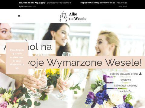 Alkonawesele.pl - prosecco weselne