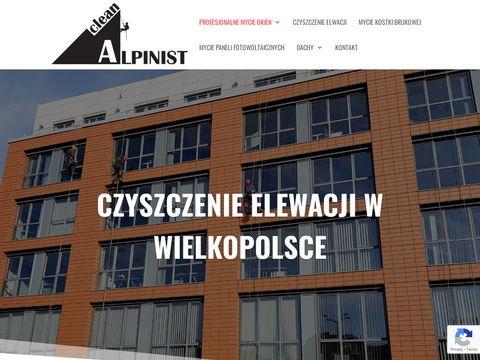 Alpinist-clean.pl mycie okien Poznań