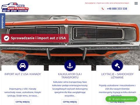 Amerykaniec.pl samochody z USA