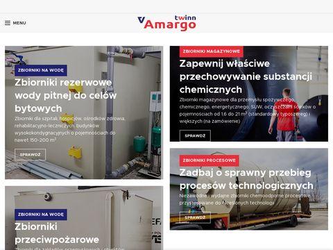 Amargotwinn.pl zbiorniki na wodę, chemoodporne