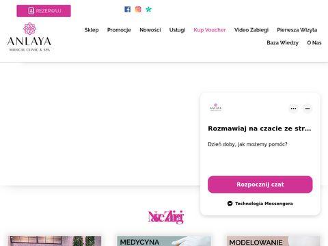 Anlaya - klinika medycyny estetycznej
