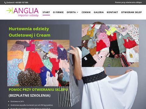 Anglia-importer.pl importerzy odzieży używanej
