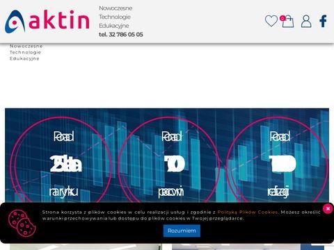 Aktin.pl - nowoczesne technologie edukacyjne