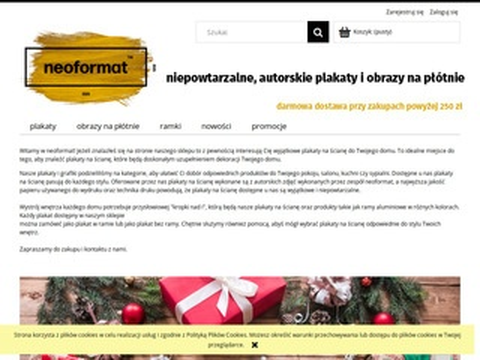 Neoformat.pl - plakaty na ścianę