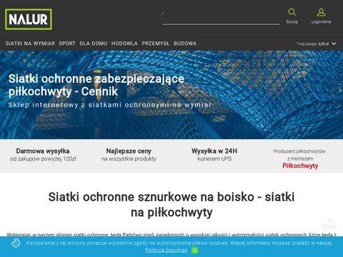 Nalur.pl - siatka ochronna