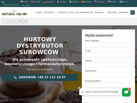 Natural Poland - surowce naturalne