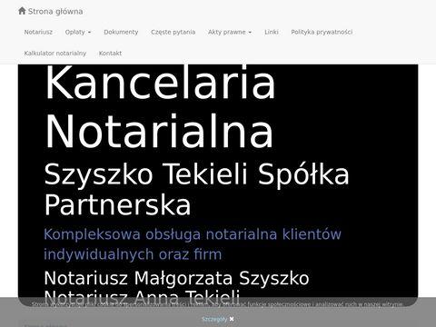 Notariusz-wroclaw.pl oświadczenia o poddaniu