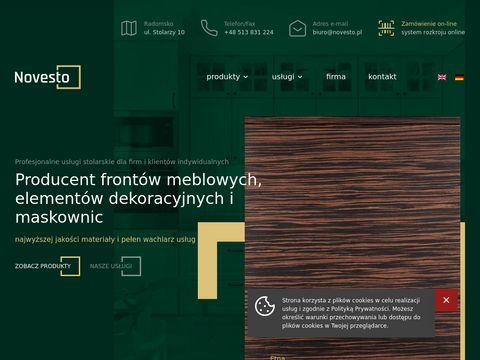 Novesto - stylowe fronty MDF