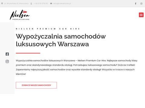 Nielsen Cars - wynajem aut luksusowych Warszawa