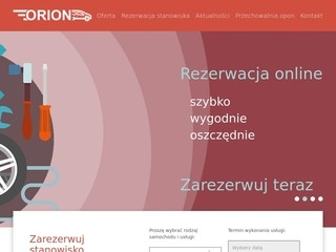 Orionserwis.pl - wymiana opon Brzesko