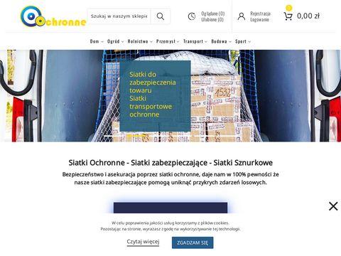 Ochronne.com.pl - siatka sportowa