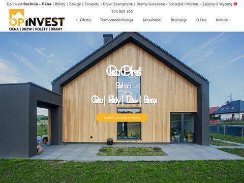 Op Invest - Dako Bochnia okna drzwi rolety bramy