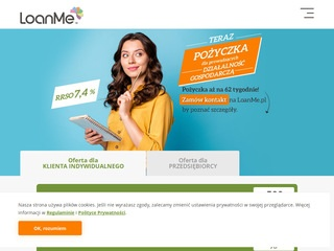 Loanme.pl - pożyczka szybka