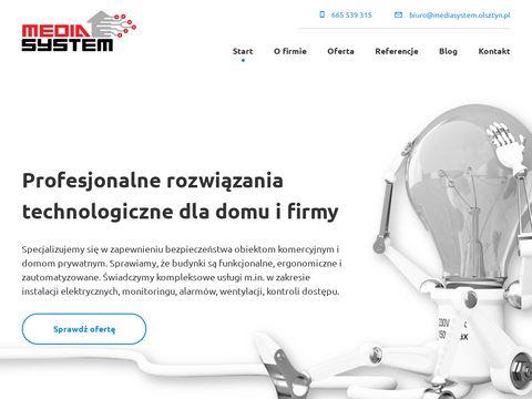 Media System napędy do bram Olsztyn