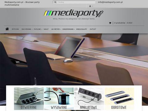 Mediaporty.com.pl gniazdko w blacie kuchennym