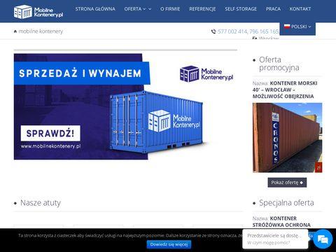 Mobilnekontenery.pl kontenery sprzedaż wynajem