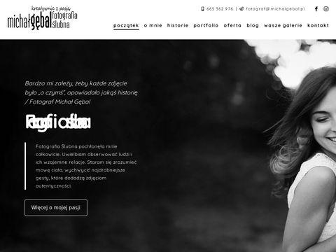 Michalgebal.pl fotograf ślubny Warszawa